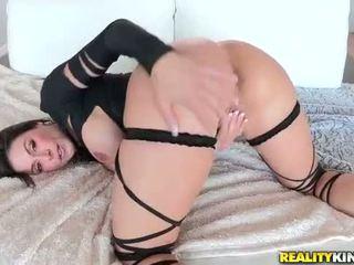 cock, brunette, white
