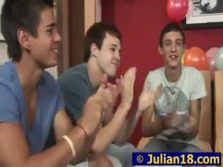 Juvenile lad julian having beliau 18th birthday majlis