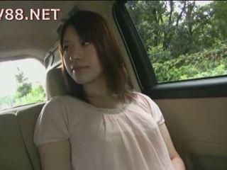 tits, japanese, car
