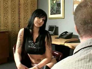 Tattooed MILF in Boots Gets A Sexy Titjob