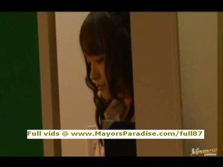 Mihiro da idol69 asiatico giovanissima bruna gets licked