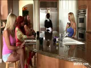 cougar, husmødre, strap-on