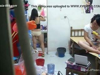 Peeping china universidad dormitory y bathroom.2