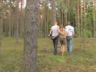 Amatorskie łotewskie trójkąt w the las