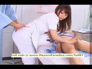 Akiho yoshizawa から idol69 いたずらな アジアの 看護師 likes へ やる フェラチオ