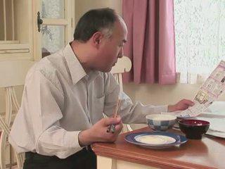 Jap матуся blows