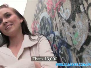 Publicagent гаряча краля fucks stranger в alleyway - порно відео 961