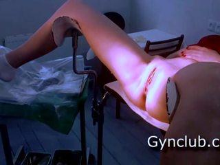 Vol gyno onderzoek gerl op gyno stoel, gratis porno 29