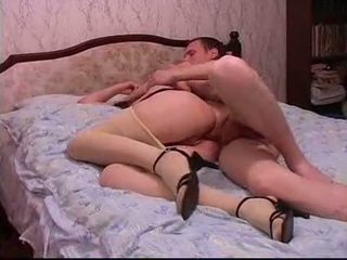anal, russe, collants