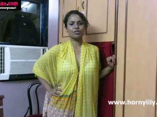 인도의 아기 lily chatting 와 그녀의 fans - mysexylily.com