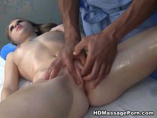 Massage ending in spuiten