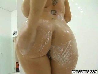 hardcore sex, tits e madhe, dush