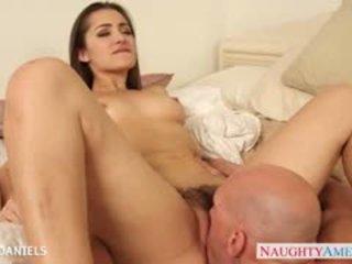 Busty Babe Dani Daniels Take A Big Dick