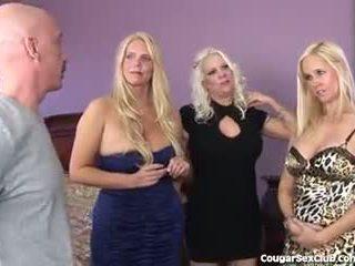 3 karstās blondīne milfs būt pilns hardcore orgija