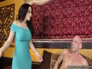 brunette, big boobs, blowjob