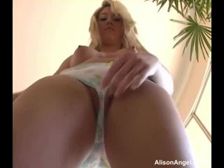 Alison Angel Does The Slow Tease