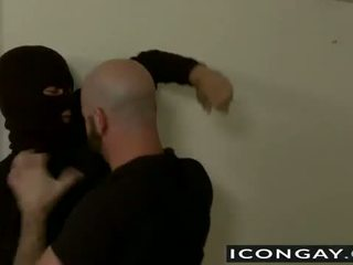 Alex il thief gets anale cazzo da adam