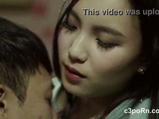 비밀 가정 교사 아시아의 단단한 섹스 장면