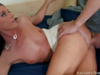 Pretty Step Mom India Summer and my cock