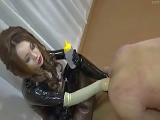 Femdom Rubber Latex Anal Fisting Japanese: Free Porn 42