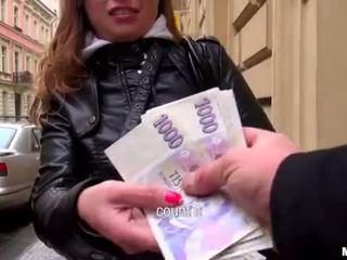 Superb eurobabe irina analyzed na pieniądze