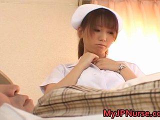 Ai sayama heet aziatisch verpleegster een door myjpnurse