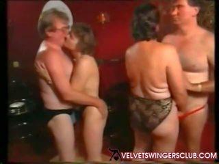 Velvet swingers club bunicuta și seniors noapte amator