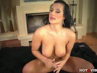 Hot G Vibe: Hot milf carmen croft masturbates