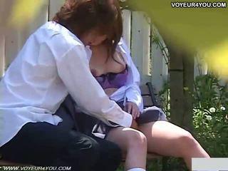 ญี่ปุ่น โรงเรียน หญิง กลางแจ้ง campus เพศสัมพันธ์
