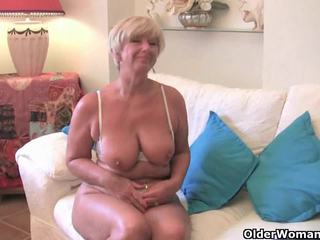 big boobs, bbw, nenek