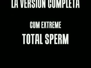 ORALSHOW * cum sperm EXTREME * POMPA ESTREMA INGOIO TOTALE