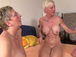 skupinový sex, babičky, matures