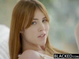 Blacked gwen stark ו - amarna miller ראשון בין גזעי שלישיה