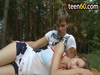 Outdoor anal undressing of luxury chick