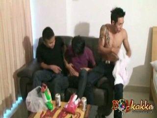 Thai Guys In 'Wild Xxx Party'
