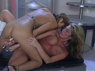Lesbo Whore Moni Michaels Enjoying Lisa's Warm Twat With All Pleasure