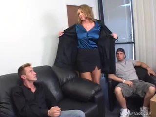 Kayla quinn, donny 긴 과 john esposito