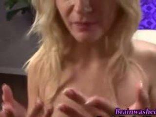 pijpbeurt, echt pov tube, ideaal blond