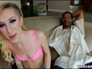 Nice interracial sex shot