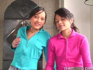 Tami Fabiana And Diana Delgado In Awesome Foursome