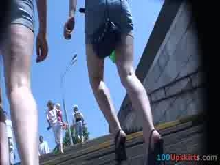 Já spied the horký eben panty nahoru the sukně