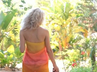 echt schattig video-, wit scène, vol jong mov