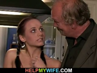 Table fucked bitchy wife