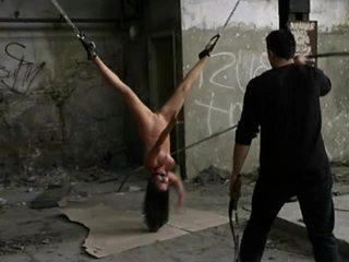 kijken marteling, vol vernedering scène, hq bdsm