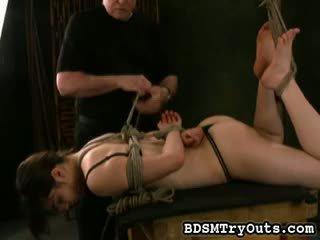 brunette, babe, full fetish