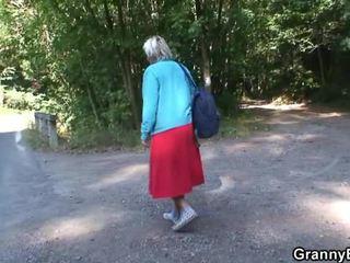 réalité, vieux, grand-mère, mamie