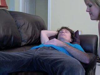Wife sleeping blowjob Video