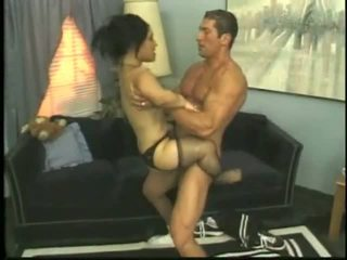 Bridget The Midget Fucking With a Young Stud