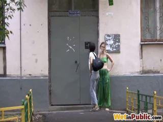 openbare sex neuken, meer pissing, nieuw geplast scène