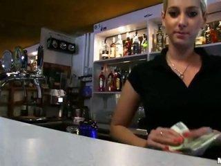 Nice tits Czech girl Lenka sex for cash